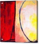 Bright Rust Acrylic Print