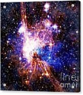 Bright Side Of The Black Hole Acrylic Print