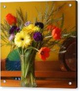 Bright Winter Bouquet Acrylic Print