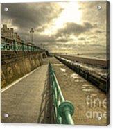 Brighton Promenade Acrylic Print