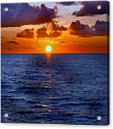 Brilliant Sunset Acrylic Print