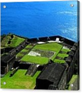 Brimstone Fortress St Kitts Acrylic Print
