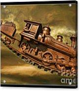 Bringhurst Special Train Acrylic Print