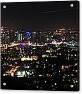 Brisbane Nights I Acrylic Print