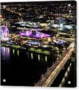 Brisbane South Bank From The 32nd Floor Acrylic Print