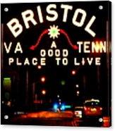 Bristol Acrylic Print by Karen Wiles