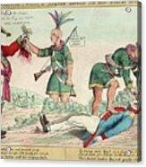 British And American Indian Raids Acrylic Print