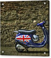 British At Heart Acrylic Print