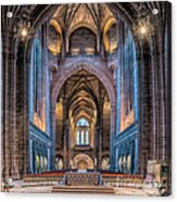 British Cathedral Acrylic Print by Adrian Evans