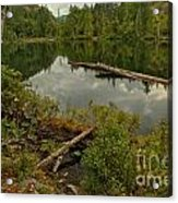 British Columbia Starvation Lake Acrylic Print