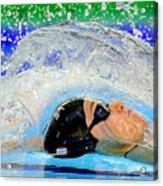 British Gas Swimming Championships 2014: Day Four Acrylic Print