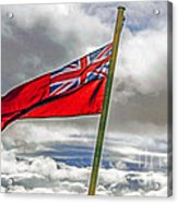British Merchant Navy Flag Acrylic Print