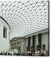British Museum - The Entrance Acrylic Print