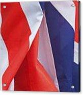 British Pride Acrylic Print