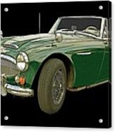 British Racing Green Acrylic Print