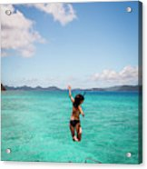 British Virgin Islands, Caribbean Acrylic Print