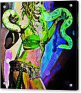 Britney Neon Dancer Acrylic Print