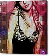 Britney - Pretty In Pink Acrylic Print