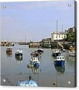 Brixham In Devon Acrylic Print