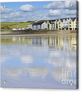 Broad Haven Clouds Acrylic Print