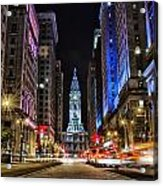Broad Street South Acrylic Print