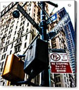 Broadway And Pine Acrylic Print