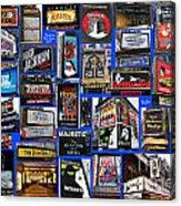 Broadway Collage Acrylic Print