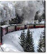 Brockenbahn Acrylic Print
