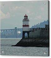 Brockton Point Lighthouse Acrylic Print