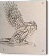 Broken Angel Acrylic Print