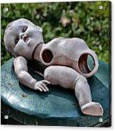 Broken Baby Doll Acrylic Print