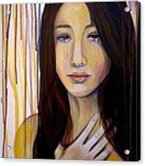 Broken Acrylic Print by Debi Starr