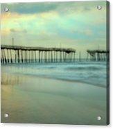 Broken Dreams - Frisco Pier Outer Banks II Acrylic Print