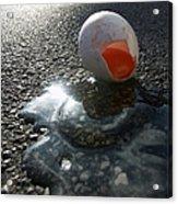 Broken Egg Acrylic Print