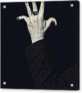 Broken Fingers Acrylic Print