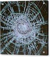 Broken Glass Acrylic Print