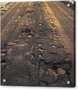 Broken Road Acrylic Print