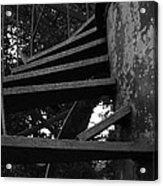 Broken Stairs Acrylic Print