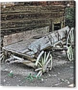 Broken Wagon Acrylic Print