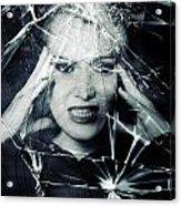 Broken Window Acrylic Print