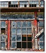 Broken Windows Acrylic Print