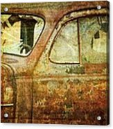 Broken Windshield Acrylic Print