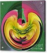 Bromiliad Abstract Acrylic Print
