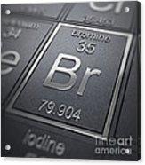 Bromine Chemical Element Acrylic Print