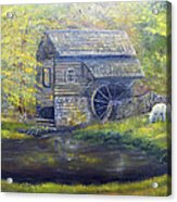 Bromley Mill At Cuttalossa Farm Acrylic Print