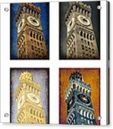 Bromo Seltzer Tower Quad Acrylic Print