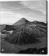 Bromo Valley Java Indonesia Acrylic Print