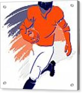 Broncos Shadow Player2 Acrylic Print