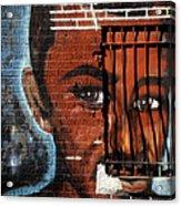 Bronx Graffiti - 2 Acrylic Print