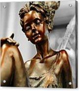 Bronze Beauty Acrylic Print